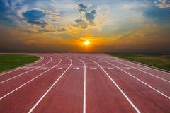 След спортсмена или идущий след Стоковые Изображения RF
