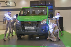 Следующее поколени газеля светлых автомобилей неиндивидуального пользования Стоковые Фото