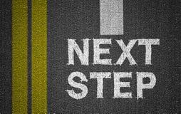 следующий шаг Стоковые Изображения