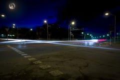Следы автомобиля Стоковые Изображения RF