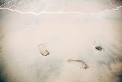 Следы ноги, Стоковые Фотографии RF