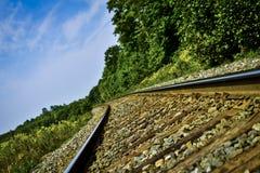 Следы поезда Стоковая Фотография