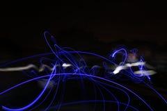 Следы света долгой выдержки Стоковое Изображение RF
