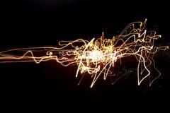 Следы света Стоковые Изображения