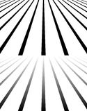 Сливающ, сходящся, исчезая линии 3d опорожняют космос Стоковые Изображения