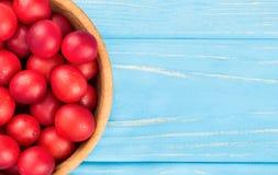 Слива вишни в шаре Стоковые Фото