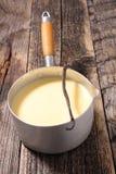 Сливк заварного крема стоковое фото