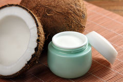 Сливк кокоса Стоковое Фото