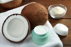 Сливк кокоса Стоковое фото RF