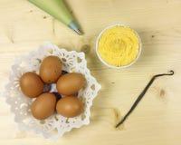 Сливк печенья в шаре Стоковые Изображения RF