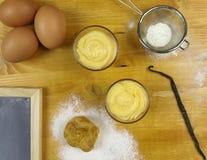 Сливк печенья в шаре Стоковое фото RF