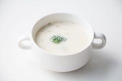 Сливк супа гриба брокколи Стоковое Изображение RF