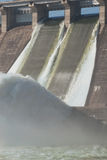 Станция гидроэлектрической энергии Стоковые Фотографии RF