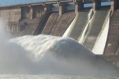 Станция гидроэлектрической энергии Стоковое Изображение RF
