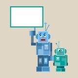 Слишком роботы и характеры Стоковое Изображение RF