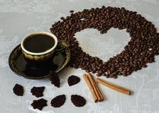 С кофе Стоковое Изображение RF