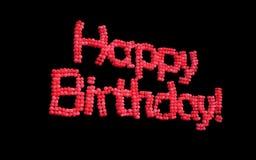 С днем рождения воздушные шары. Стоковые Изображения