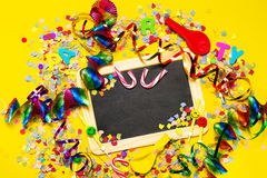 С днем рождения, предпосылка партии или масленицы или концепция партии wi Стоковая Фотография RF