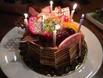 С днем рождения слово Стоковое Изображение RF