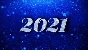 2021 С Новым Годом! голубых текстов желает приветствия частиц, приглашение, предпосылку торжества