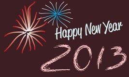 С новым годом 2013 Стоковое фото RF