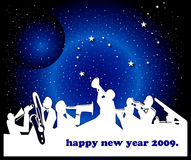 С новым годом Стоковые Фото