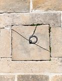 Сдобренная старая каменная стена Стоковое Фото
