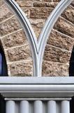 Сдобренная стена известняка Стоковые Изображения