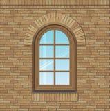 Сдобренное старое окно Стоковое Фото