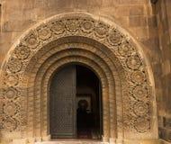 Двери музея Стоковые Фото