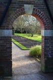 Сдобренный вход сада Стоковая Фотография RF