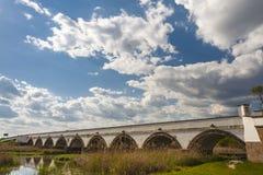 9-сдобренный мост в Венгрии Стоковая Фотография