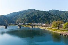 сдобренный мост деревянный Стоковые Изображения RF