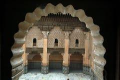 Деталь medersa Бен Youssef стоковое фото rf