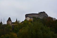 Словакия Замок Orava Стоковое Изображение RF
