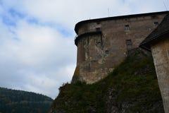 Словакия Замок Orava Стоковое Изображение