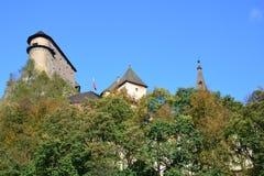 Словакия Замок Orava Стоковая Фотография