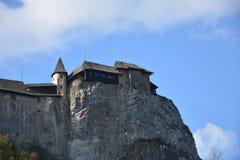 Словакия Замок Orava Стоковые Фото