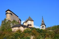 Словакия Замок Orava Стоковые Фотографии RF
