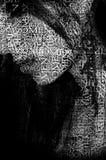 Слова женщины Стоковое Изображение