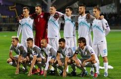Словенская национальная футбольная команда Стоковые Фото
