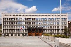 Словенское здание парламента Стоковое Изображение RF