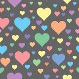 слово влюбленности иллюстрации руки чертежа конструкции основы графическое Стоковые Изображения RF