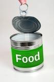 Слово еды Стоковая Фотография RF