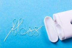Слово зубоврачебной зубочистки Стоковые Изображения