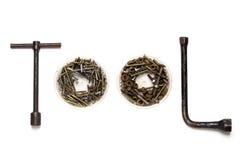 Слово инструмента сделанное от инструментов Стоковые Фото