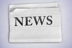 Слово новостей Стоковая Фотография RF