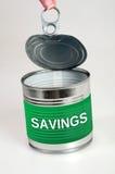 Слово сбережений Стоковые Изображения RF