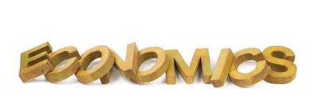 Слово сделанное деревянных изолированных писем Стоковое Изображение