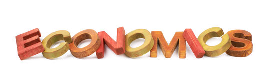 Слово сделанное деревянных изолированных писем Стоковое Фото
